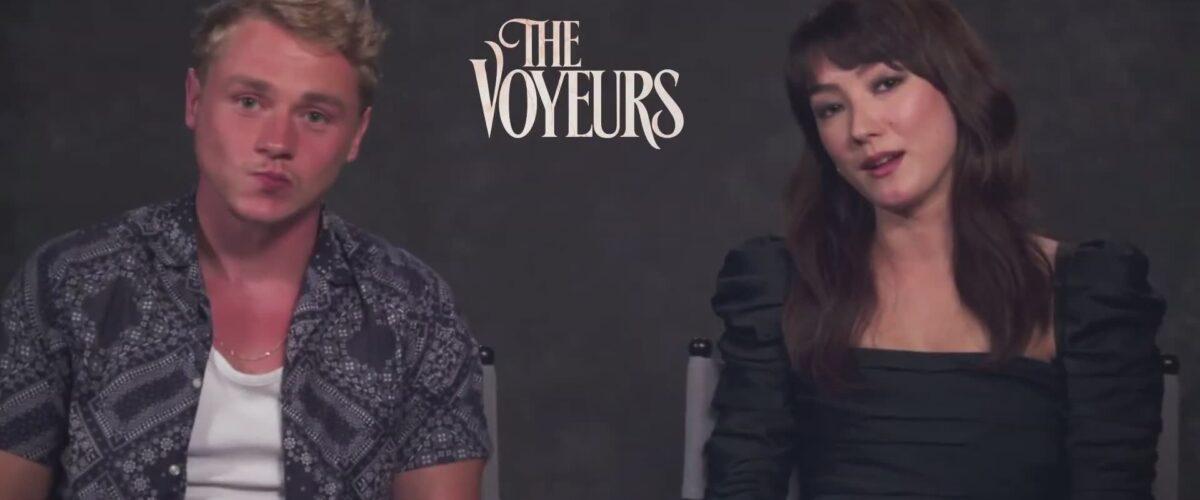Video: 'The Voyeurs' Press Junket Interviews